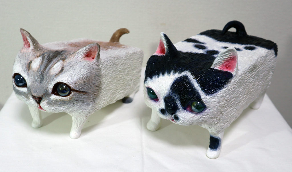 A series of Square Cats
